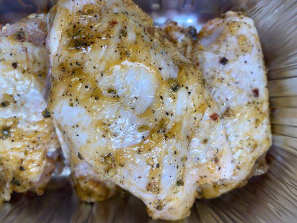 Korean Salt & Pepper Chicken Thighs 2